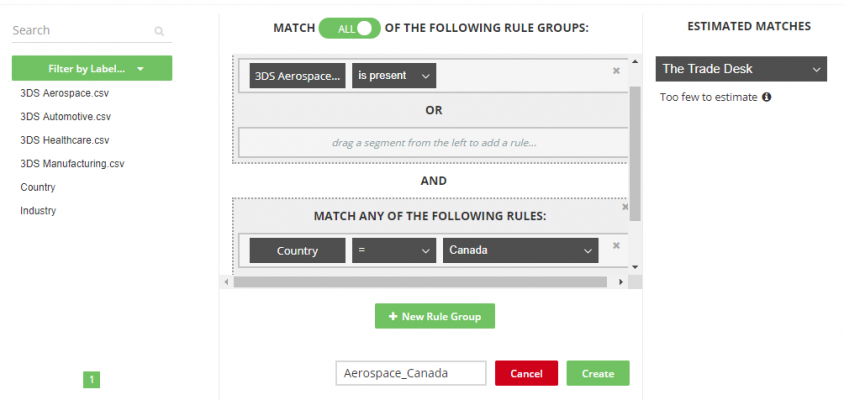 LiveRamp helps you segment audiences for ad personalization