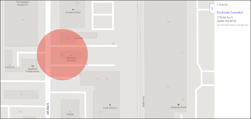 Geofence dispensary locations to improve your ad targeting and ROI.